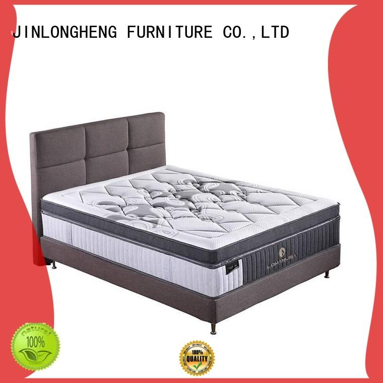 JLH latex firm innerspring mattress High Class Fabric with softness