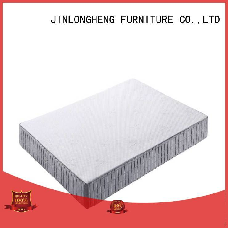 JLH foam double bed mattress supply for guesthouse