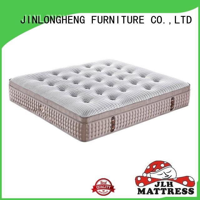JLH comfortable tri fold mattress High Class Fabric for home