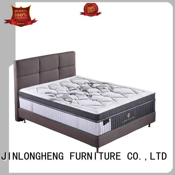 deluxe chinese mini JLH Brand 2000 pocket sprung mattress double manufacture