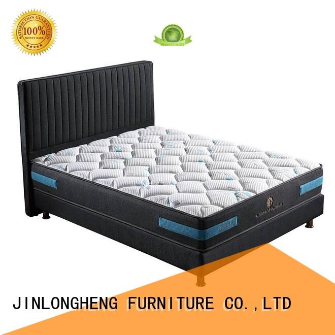 saving pocket material OEM innerspring foam mattress JLH