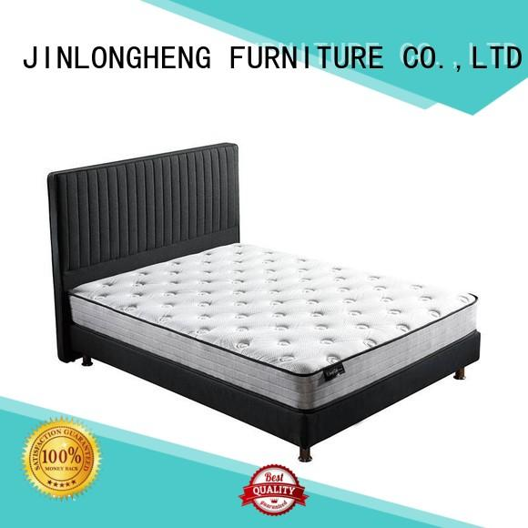 JLH luxury roll up mattress High Class Fabric for bedroom