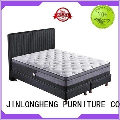 JLH Brand euro spring king size latex mattress royal bread