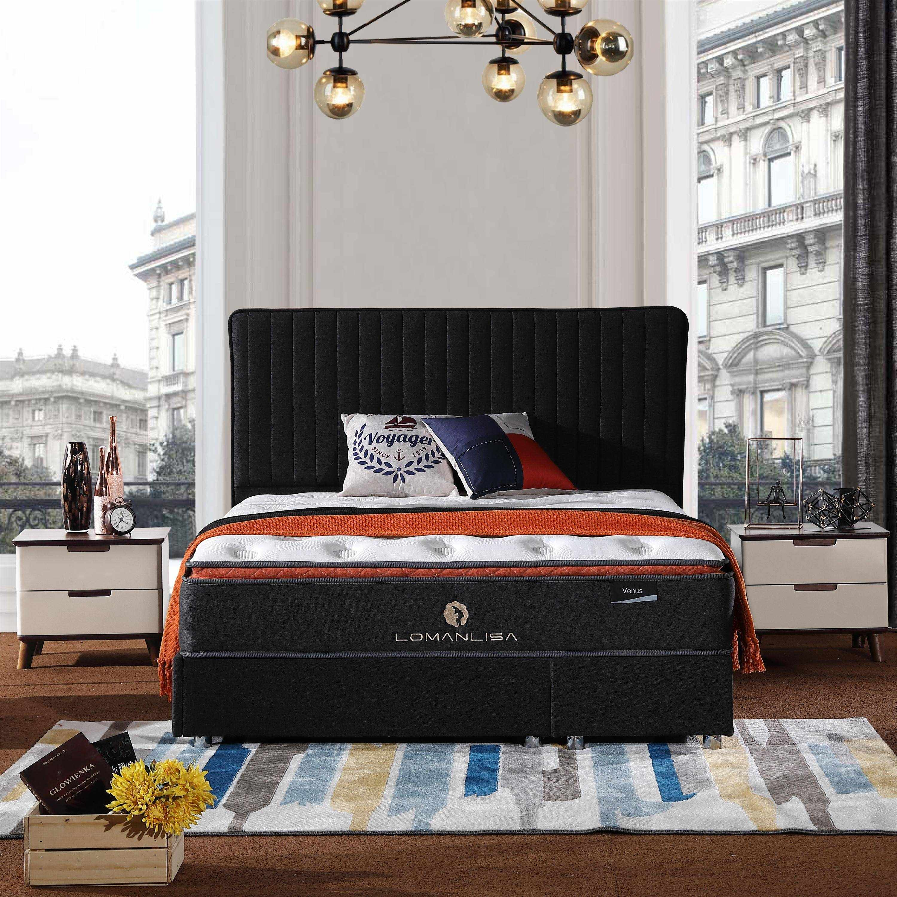 JLH turfted sprung mattress for sale for hotel-1