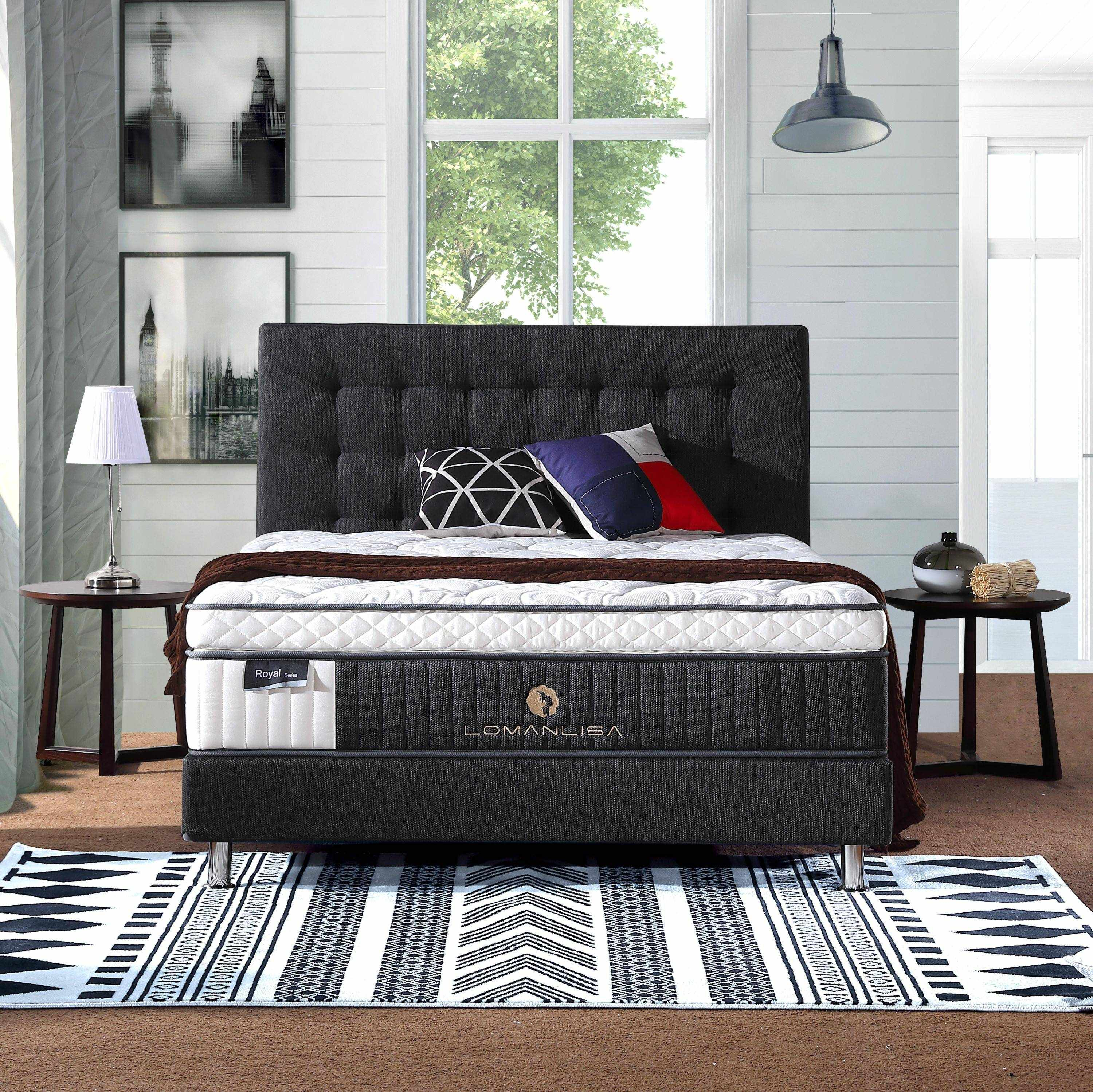 JLH Double Layers 5 Zoned Pocket Spring Luxury Design with Convoluted Foam and High Quality Knitted Fabric Double Spring Mattresses image2