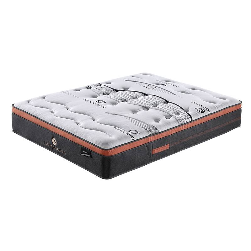 JLH Venus Style Memory Foam 5 Zones Pocket Spring Mattress with Mini Pocket Spring Edge Support Memory Foam Mattress image1