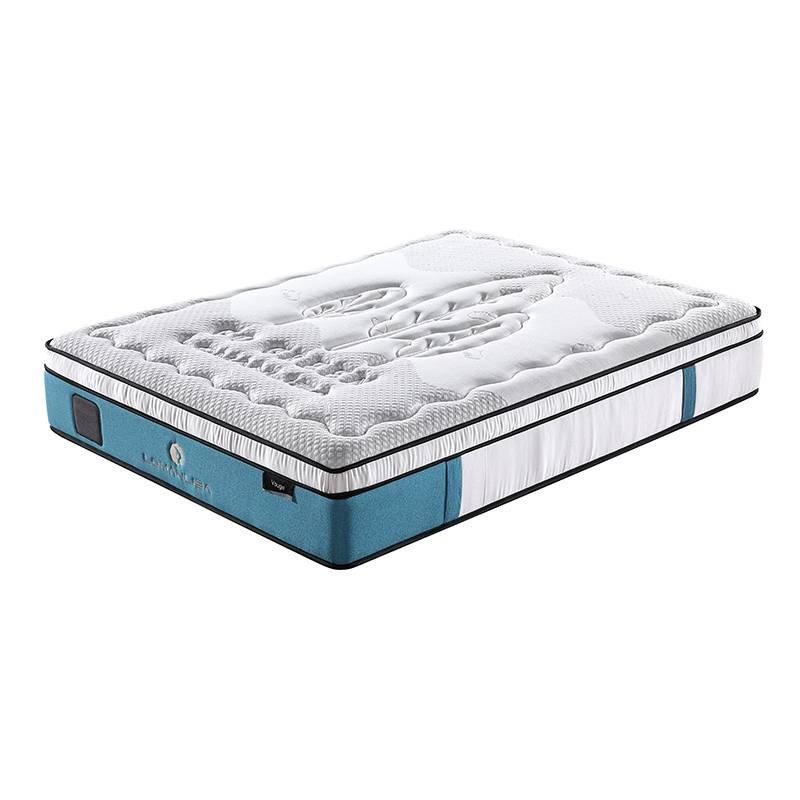 Luxurious Design 5 Zones Pocket Spring Best Mattress With Memory Foam And Natural Latex