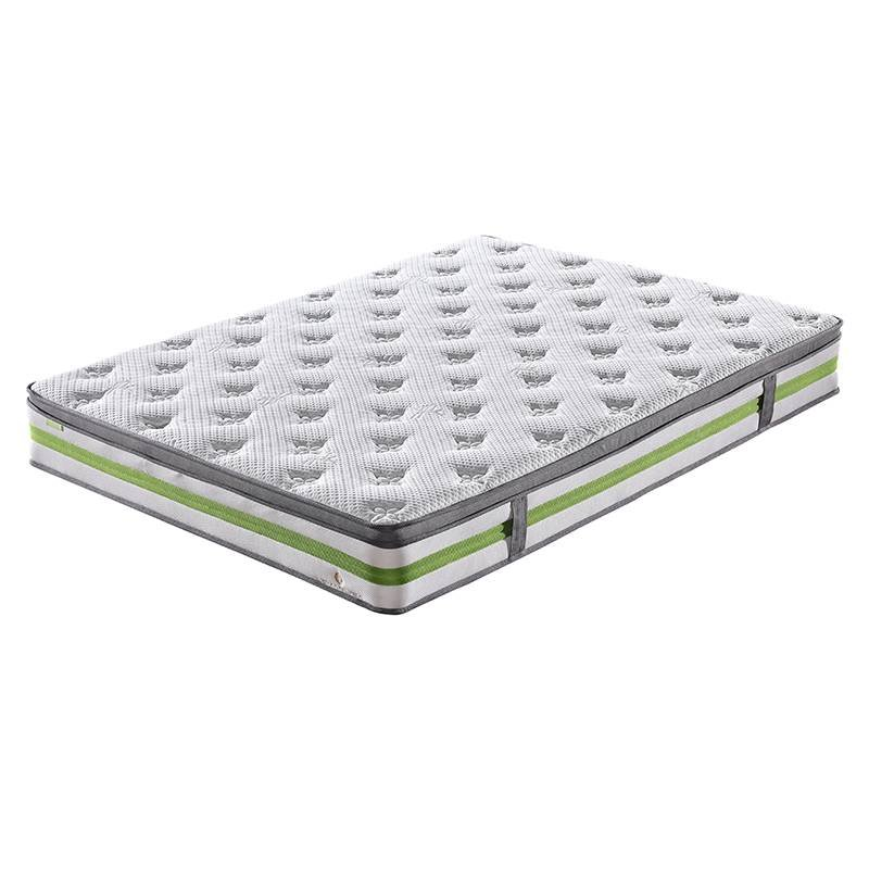 JLH Euro Top Design Cooling Bamboo Fabric Anti-Mite Mattress with Convoluted Foam Best value mattress image1