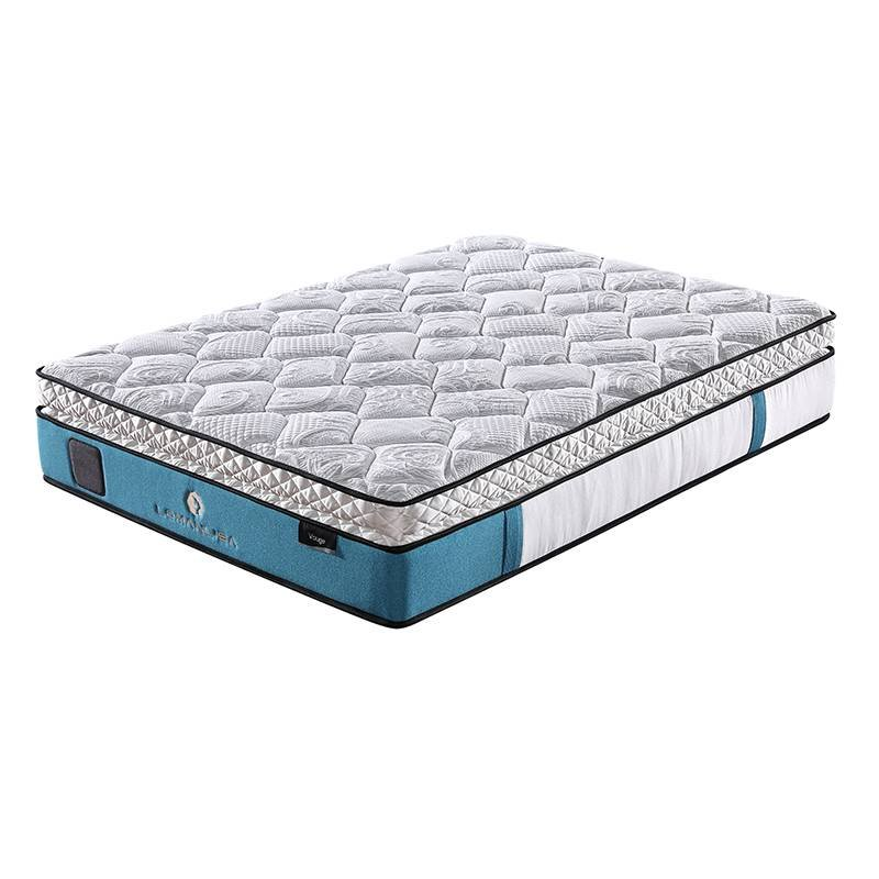 JLH Luxury Cooling Gel Memory Foam 5 Zoned Pocket Spring Mattress with Euro Top Design Hybrid Mattress image3