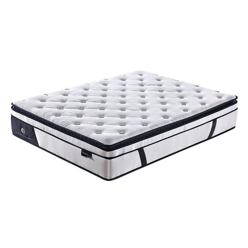 New Design 5 Zoned Pocket Spring Euro Top Rolled Mattress