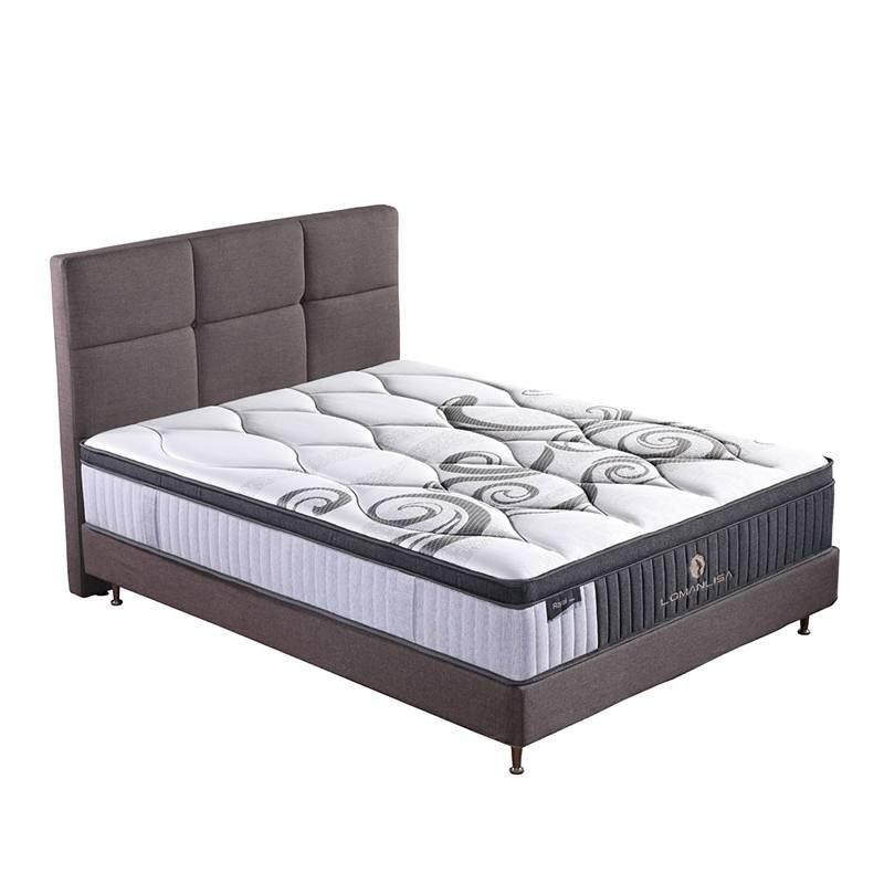 34PA-56 Hot Selling Cooling Royal Luxury Gel Memory Foam Queen Mattress