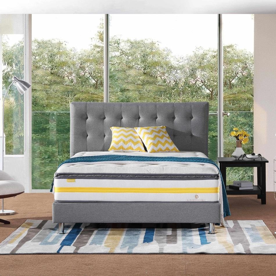 32PA-34   Pillow Top Design Pocket Spring Mattress with Convoluted Foam Nature Fresh Series