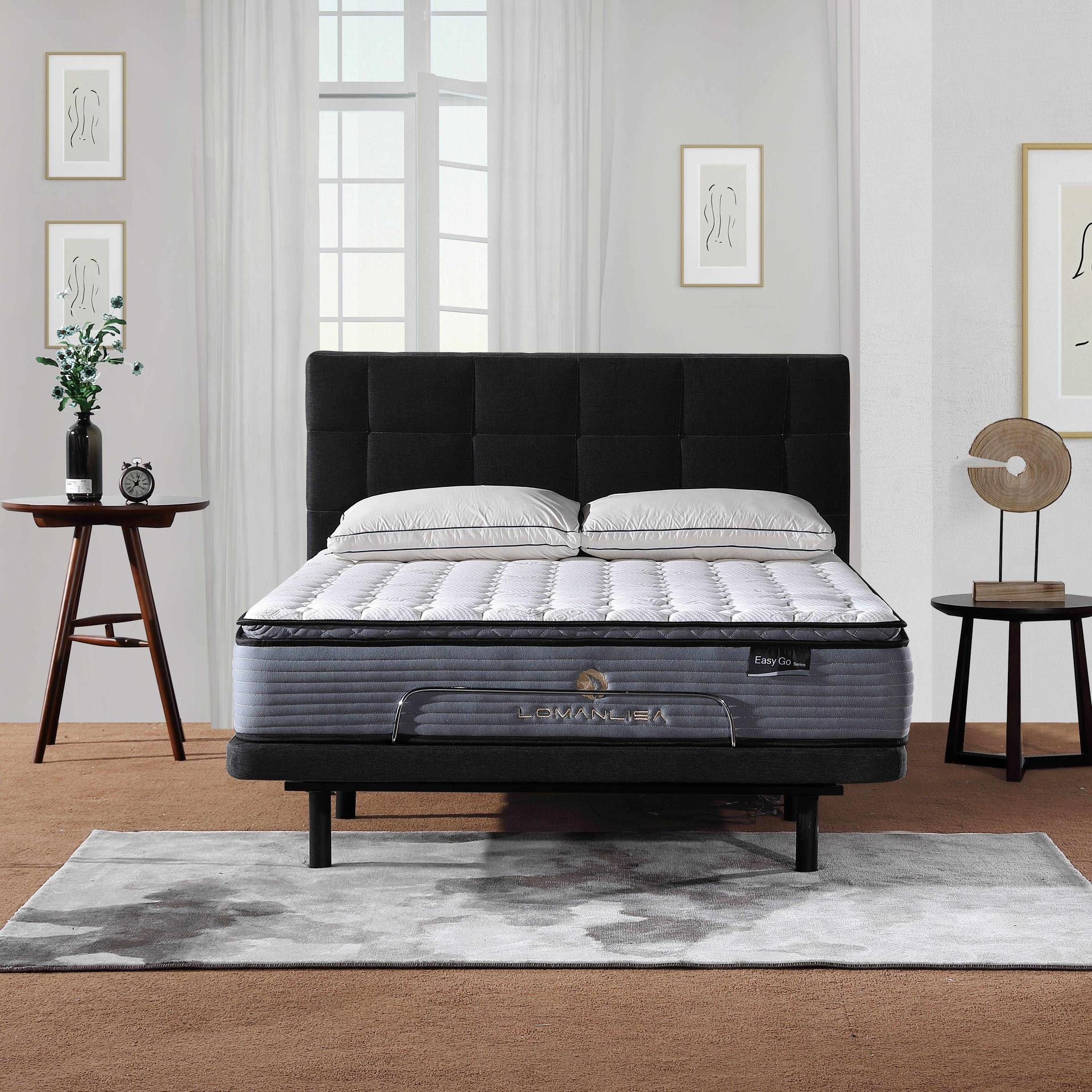 32PB-21 | Pillow Top Design Electric Adjustable Bed with Quiet and Stable Motor in King Queen Size