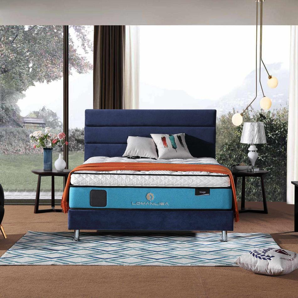 33PA-15   Luxury Cooling Gel Memory Foam 5 Zoned Pocket Spring Mattress with Euro Top Design