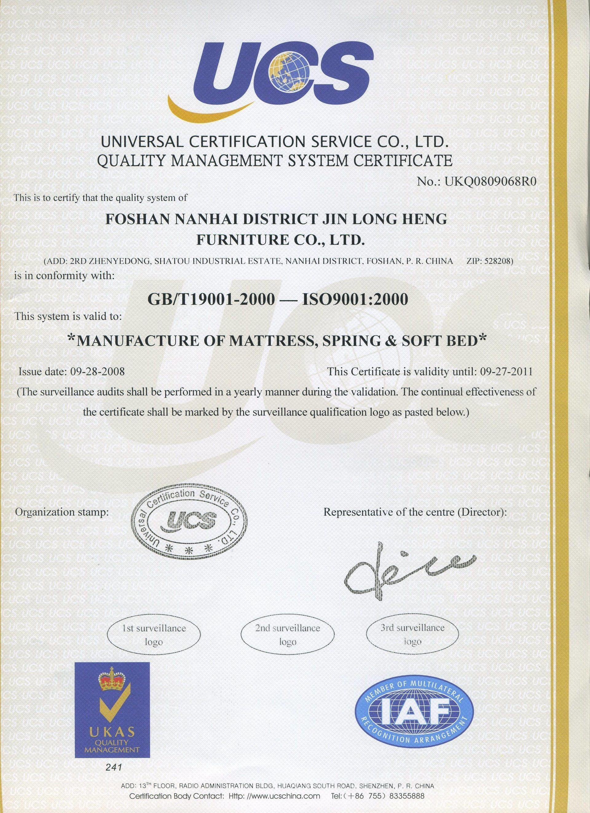 mattresses manufacturer