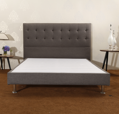 CJ-10 Bedroom Bed Easy Assembly Strong Wood Slat Support