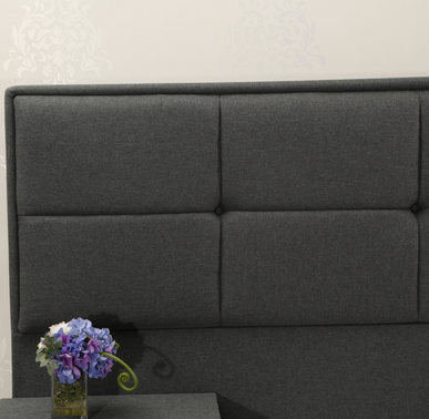 MB3358 | Modern Bedroom Fabric Upholstered Bed Wall Headboard