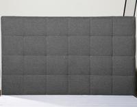 MB3375 New Design Bedroom Bed Furniture Queen Size Headboard Light Grey