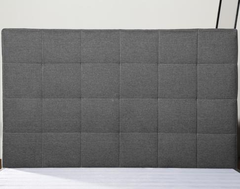 MB3375   New Design Bedroom Furniture Queen Size Headboard, Light Grey