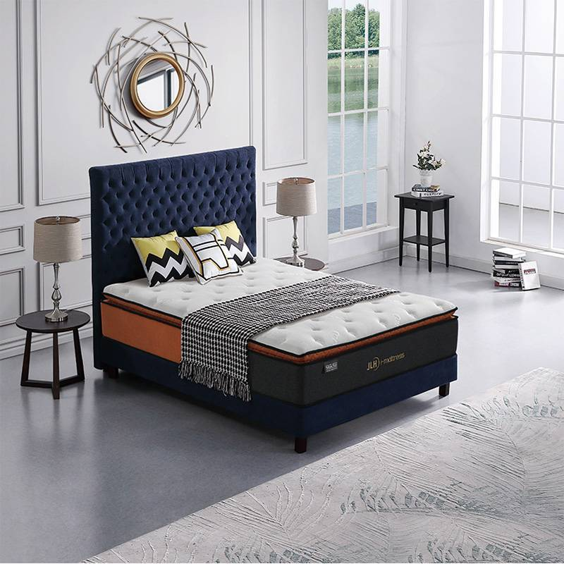 32PA-47 Venus Soft Pillow Top Ranked Mattresses Memory Foam Pocket Spring Mattress