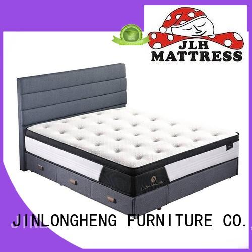 JLH Brand comfort breathable hybrid mattress manufacture