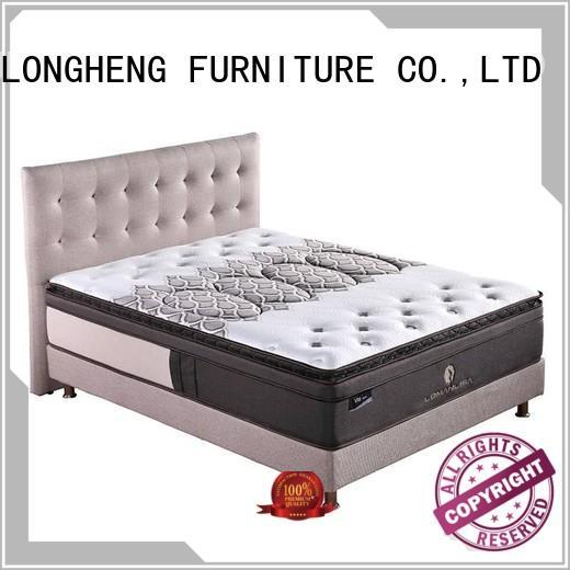 unique spring cooling JLH Brand compress memory foam mattress supplier