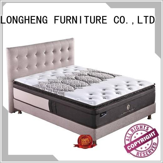 unique spring cooling JLH Brand compress memory foam mattress supplier