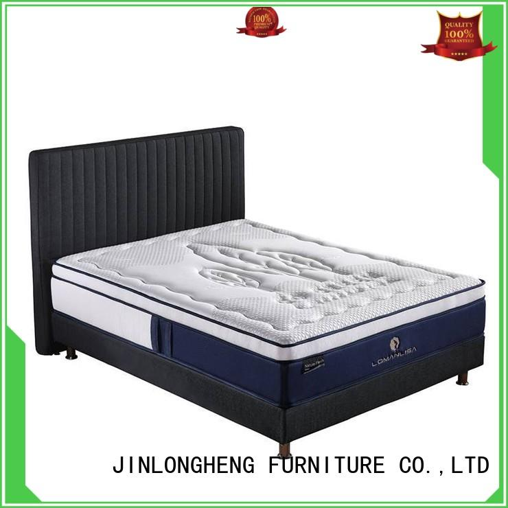 Custom breathable compress memory foam mattress memory JLH