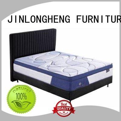 natural Custom perfect latex gel memory foam mattress bread JLH