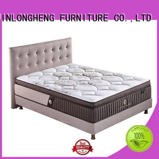 Hot king size latex mattress luxury JLH Brand