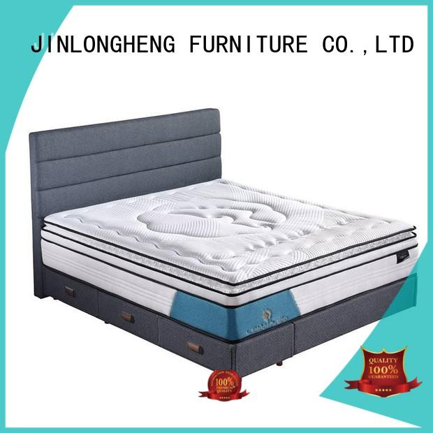 Hot latex compress memory foam mattress design quality JLH Brand