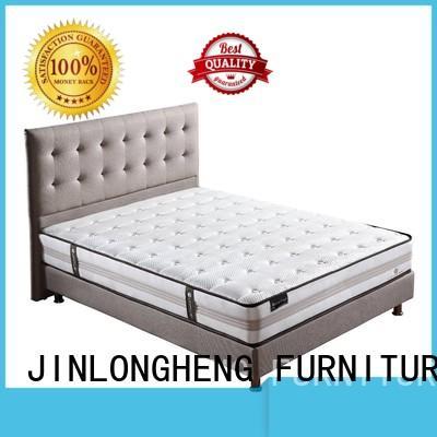 bed design spring comfortable JLH Brand innerspring foam mattress supplier