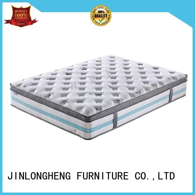 JLH silk blow up mattress with Quiet Stable Motor for guesthouse