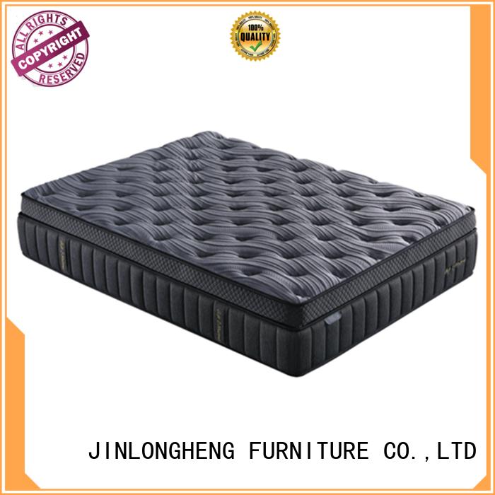 33PA-20 | 14-Inch - 7 Zone - Wool Hybrid Pocket Spring Mattress - Memory Foam Supportive - Mattress In a Box