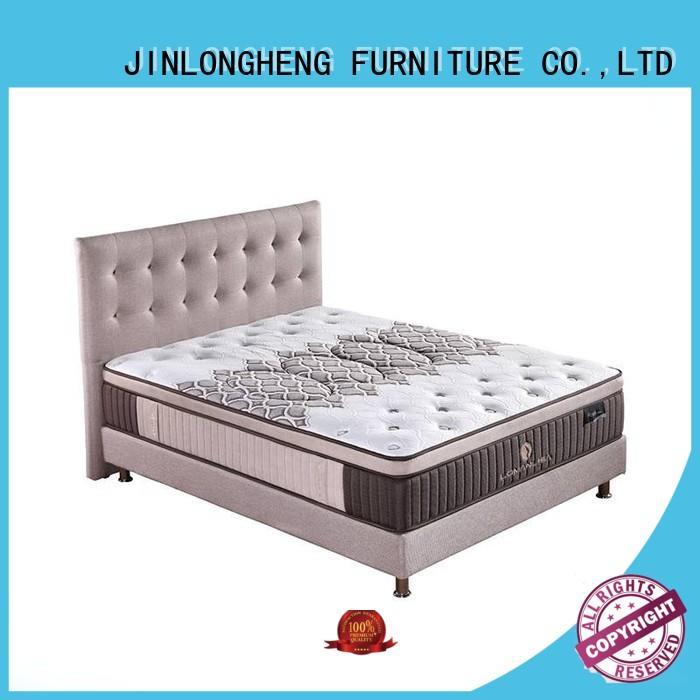 design spring breathable JLH Brand cool gel memory foam mattress topper manufacture