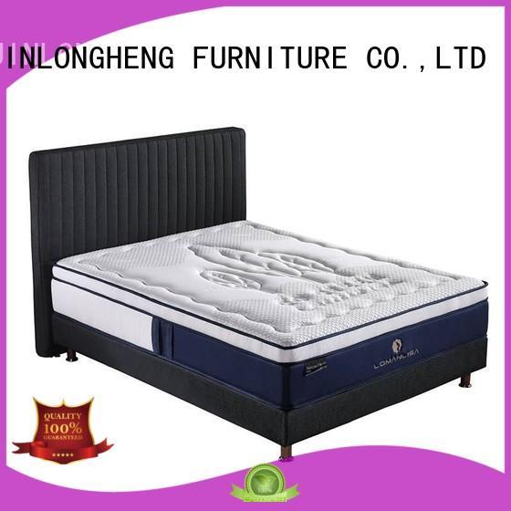 JLH Brand viisco mattress cool gel memory foam mattress topper