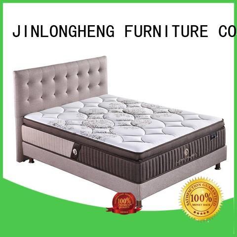 Custom pocket sale latex gel memory foam mattress JLH top