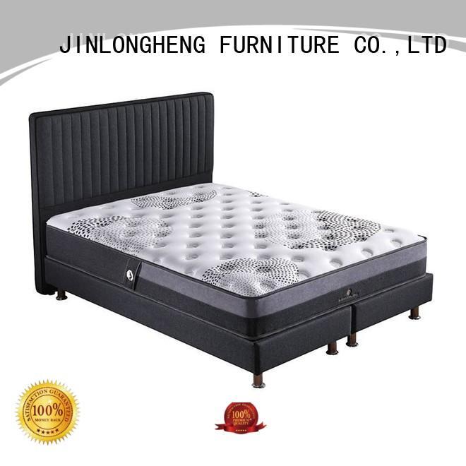 JLH Brand quality green innerspring foam mattress manufacture