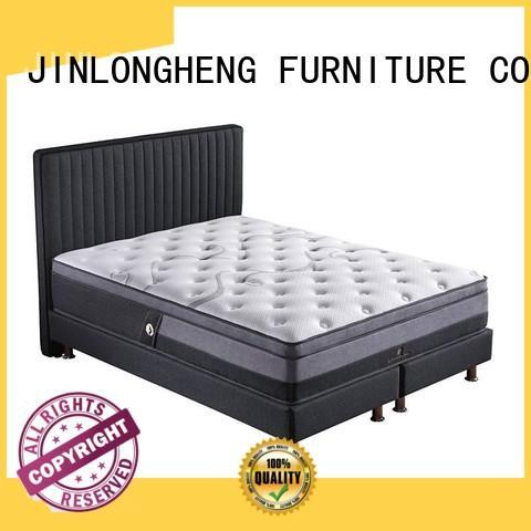 turfted design latex gel memory foam mattress luxury JLH Brand company
