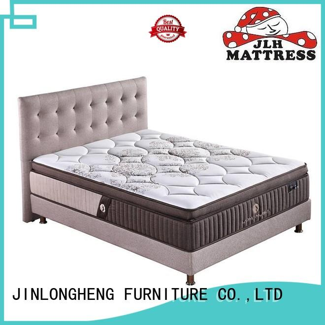 natural latex gel memory foam mattress coil JLH company