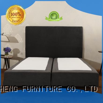 CJL-01 | Modern Smart Box Spring Bed Base / Mattress Foundation / Wrinkle Resistant