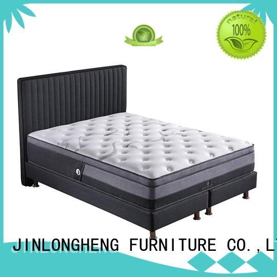 king size latex mattress turfted JLH Brand latex gel memory foam mattress