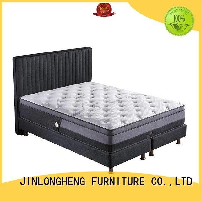 JLH latex gel memory foam mattress coil turfted spring sale