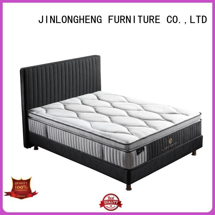 JLH Brand turfted spring king size latex mattress pocket supplier