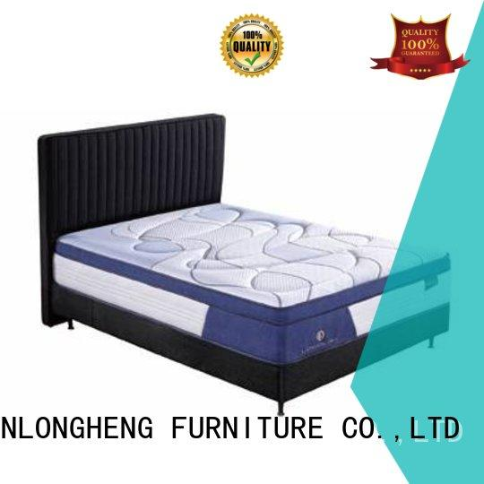 Hot latex gel memory foam mattress foam JLH Brand