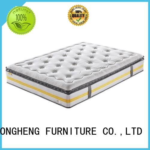 Pillow Top Design Pocket Spring Mattress with Convoluted Foam Nature Fresh Series