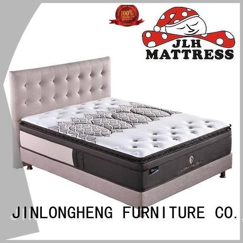 JLH Brand foam oem design custom cool gel memory foam mattress topper