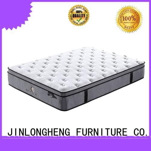 JLH industry-leading full size mattress in a box topper for guesthouse