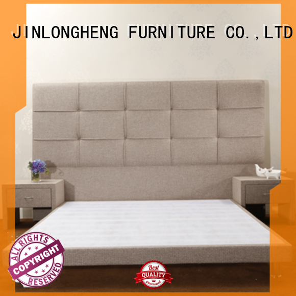 Latest upholstered bed with mattress manufacturers for tavern