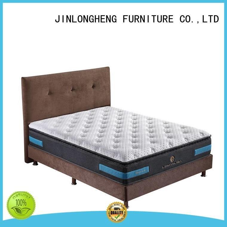 california king mattress pocket bed OEM innerspring foam mattress JLH